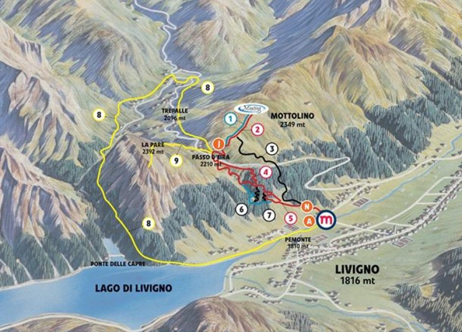 Mottolino Bike Park Livigno Mountain Bike Spot All Rides Now