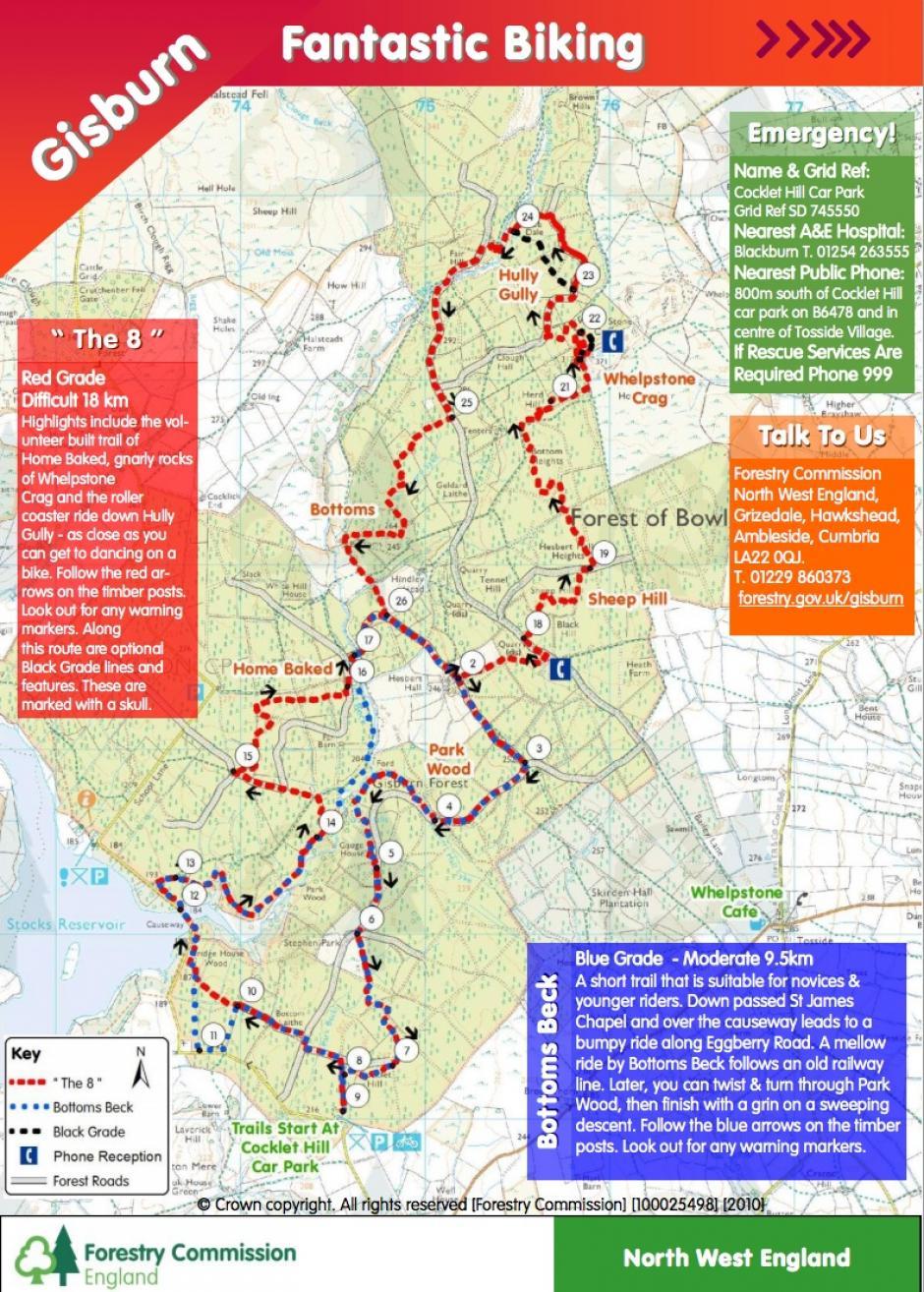 Gisburn Forest  Mountain Bike Spot  All Rides Now  allridesnowcom
