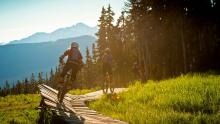 Bike Park Mount Washington - Website Background