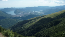 Monte Tamaro panoramic view