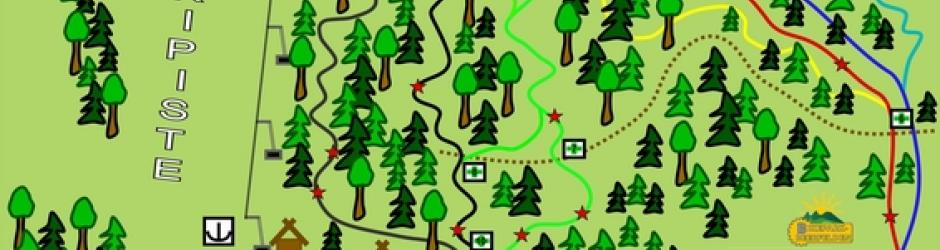 Bikepark Beerfelden Trail Map