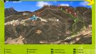 La Fenosa Trail map