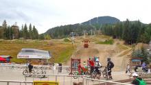 Whistler Mountain Bike Park - Bottom