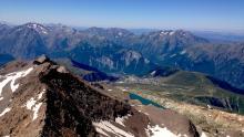 Alpe D'Huez at top