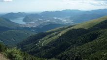 Monte Tamaro panoramic view