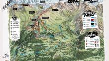 La Rosiere Bikezone Map